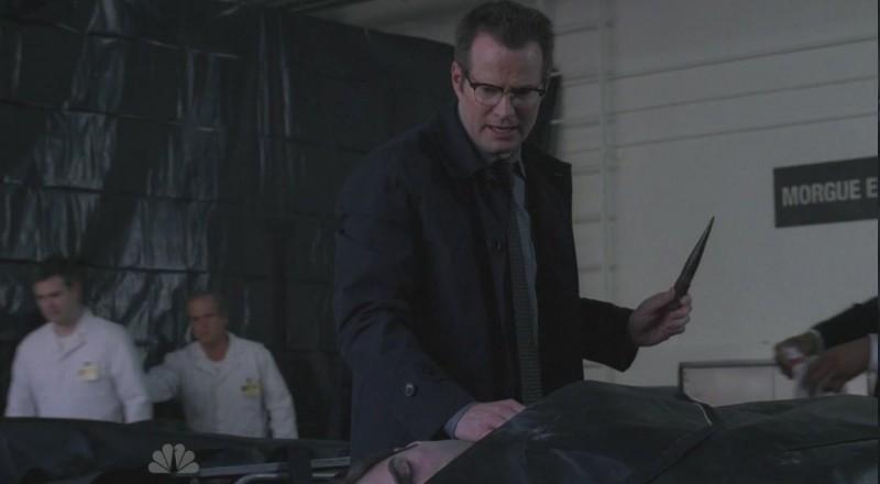 Jack Coleman in una scena di Turn And Face The Strange dalla terza stagione di Heroes