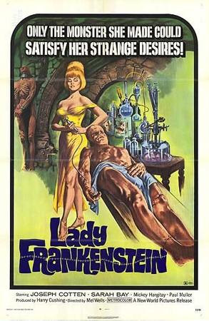 La locandina di La figlia di Frankenstein