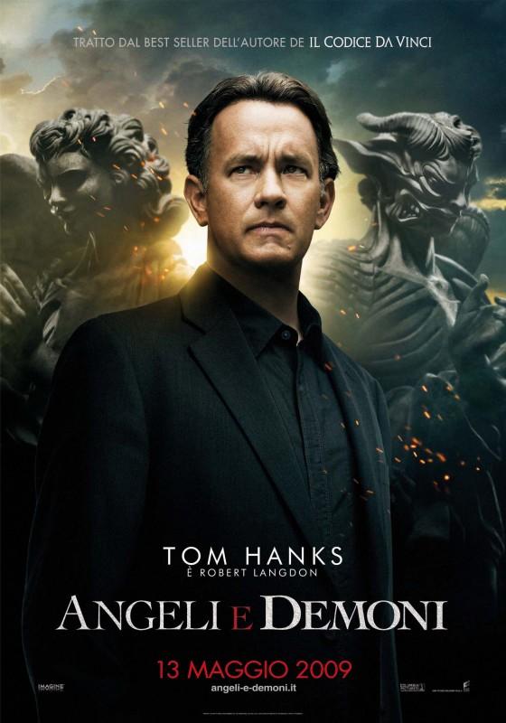 La nuova locandina italiana di Angeli e Demoni