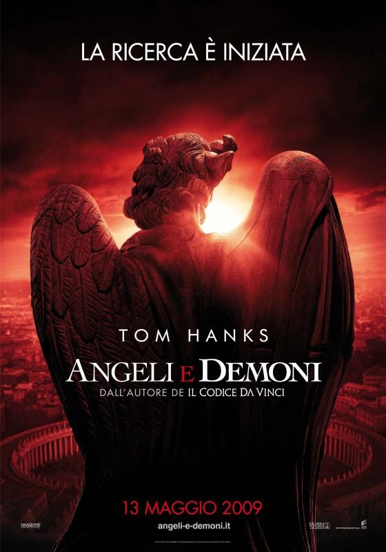 Nuova locandina italiana per Angeli e Demoni