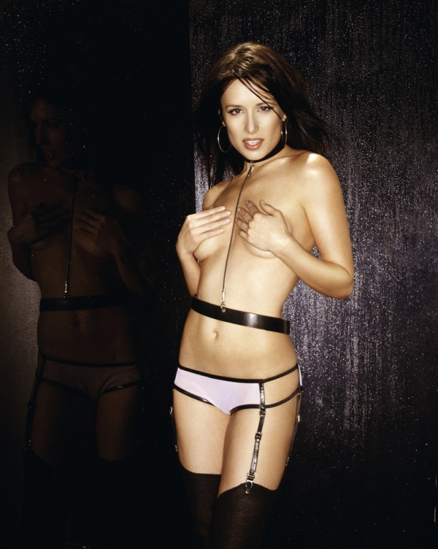 Shawnee Smith supersexy in versione sadomaso