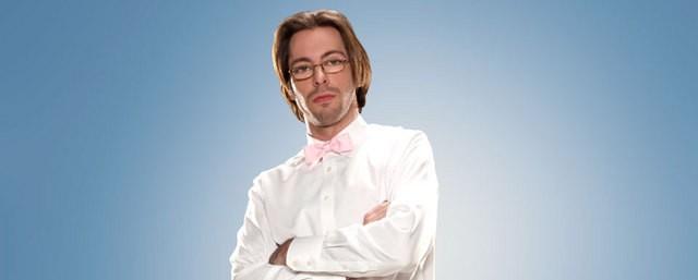 Una foto promozionale di Martin Starr per la serie TV Party Down