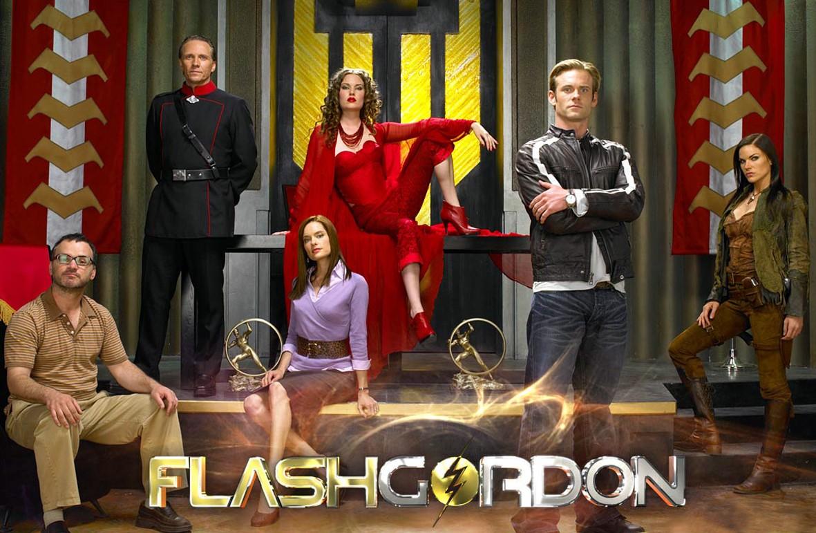 Wallpaper di Eric Johnson e il cast della serie Flash Gordon