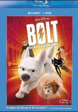 La copertina di Bolt - un eroe a quattro zampe (blu-ray)
