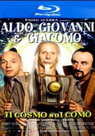 La copertina di Il cosmo sul comò (blu-ray)
