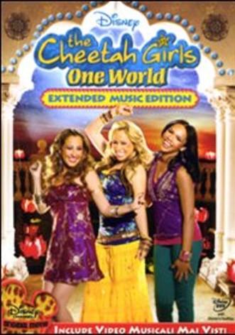 La copertina di The Cheeta Girls - One World (dvd)