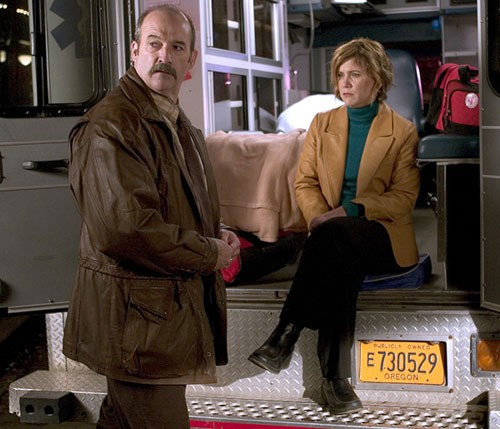 Mitchell Kosterman e Tracey Gold nel film televisivo Safe Harbor