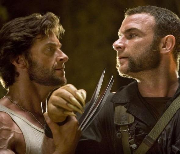 Scontro fisico tra Hugh Jackman e Liev Schreiber in X-Men - Le origini: Wolverine