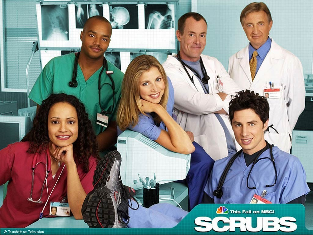 Wallpaper del serial tv Scrubs