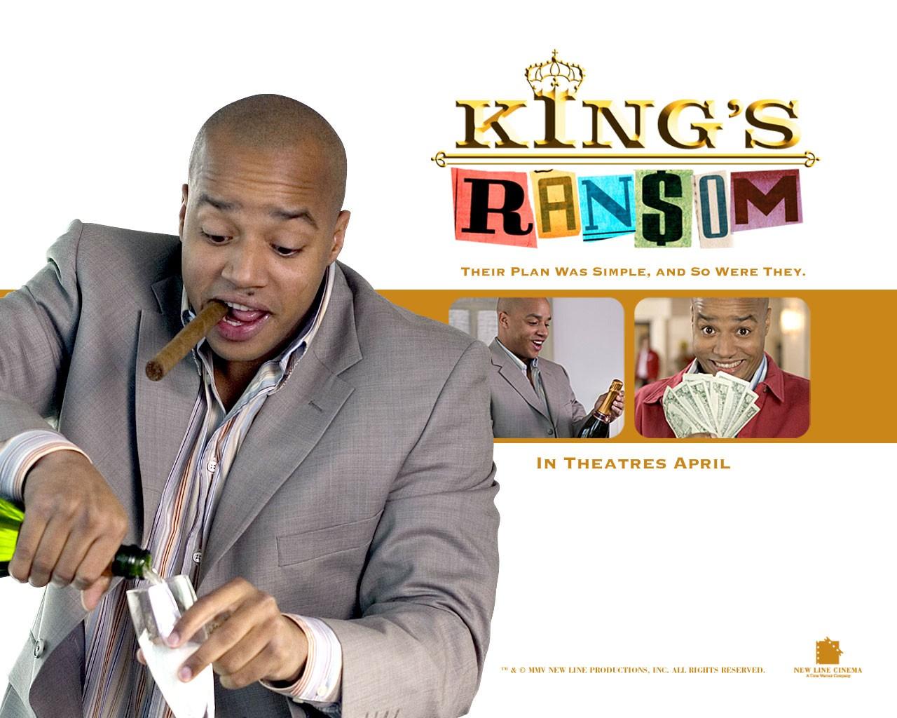Donald Faison in un wallpaper del film King's Ransom, del 2005
