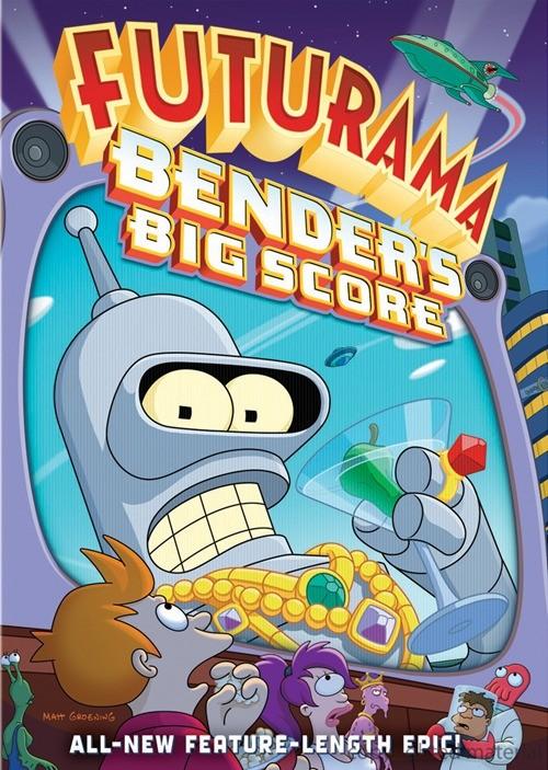 La locandina di Futurama - Il colpo grosso di Bender