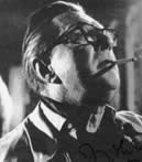 Terence Fisher sul set