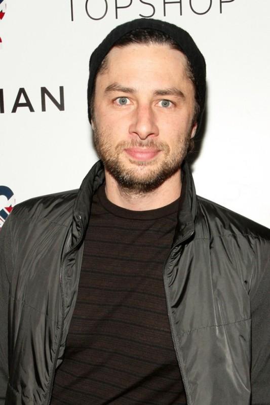 una foto di Zach Braff, star di Scrubs