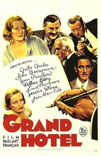 La locandina di Grand Hotel
