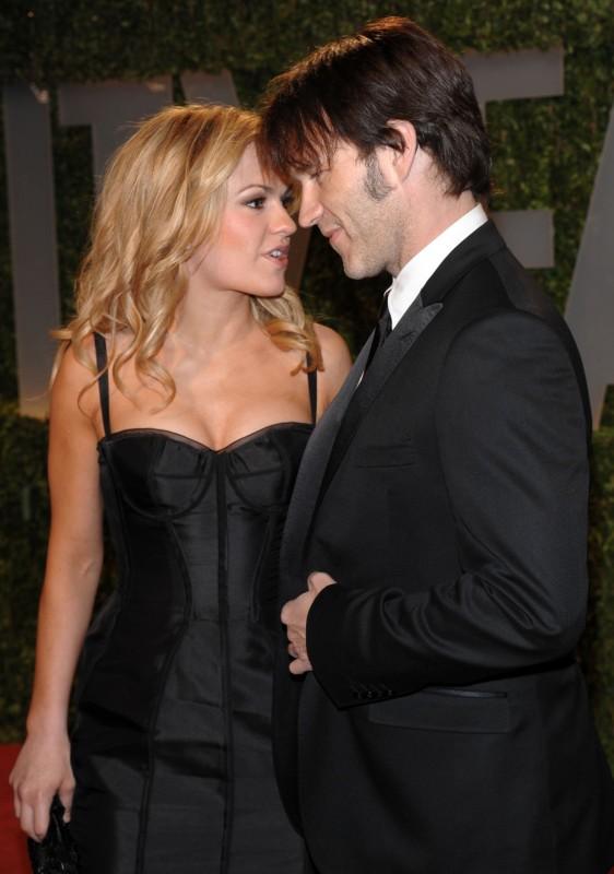 2009: Stephen Moyer e Anna Paquin sono tra gli ospiti Vanity Fair Oscar Party