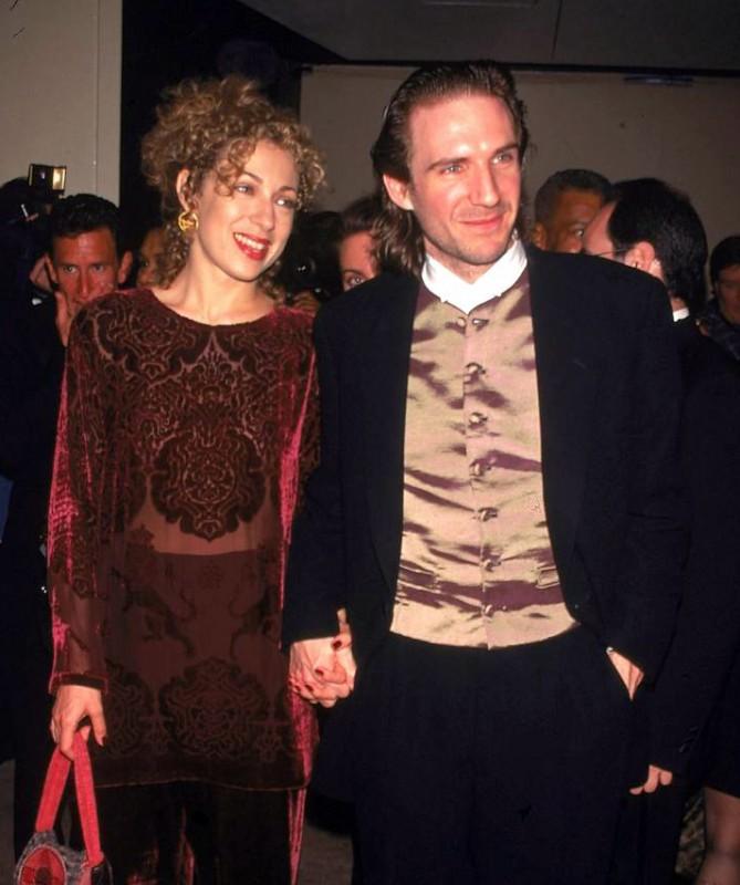 Alex Kingston e Ralph Fiennes