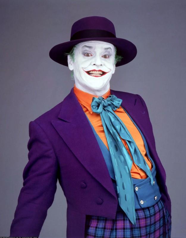 Jack Nicholson è Joker in Batman