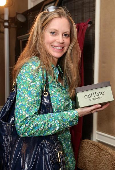 Kristin Bauer in occasione dei Golden Globes 2009