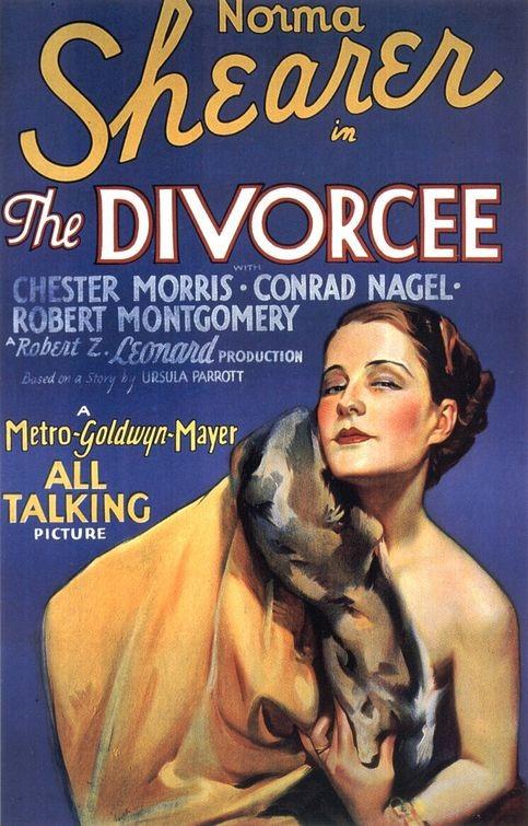 La locandina di La divorziata