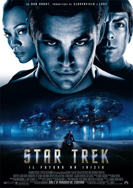La locandina italiana di Star Trek