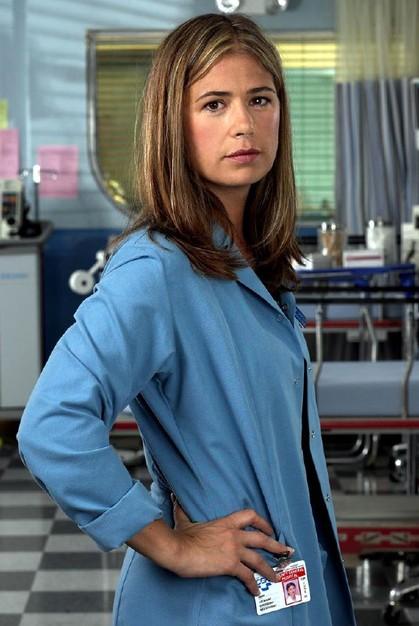 Maura Tierney nel serial televisivo ER - Medici in prima linea