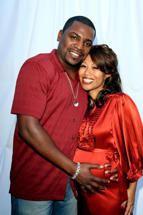 Mekhi Phifer e sua moglie