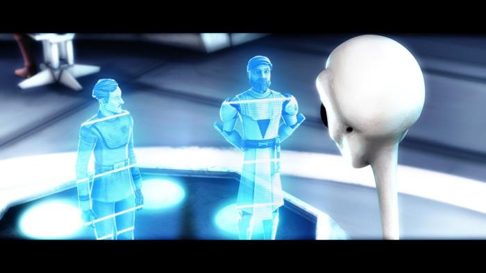 Un'immagine dell'episodio 'Shadow of Malevolence' della serie tv Star Wars: Le guerre dei Cloni