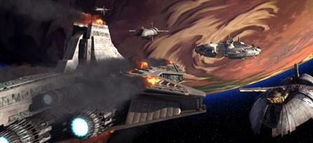 Un momento dell'episodio ' Storm over Ryloth ' della serie tv Star Wars: Le guerre dei Cloni