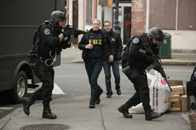 Una scena d'azione dell'episodio Midnight di Fringe