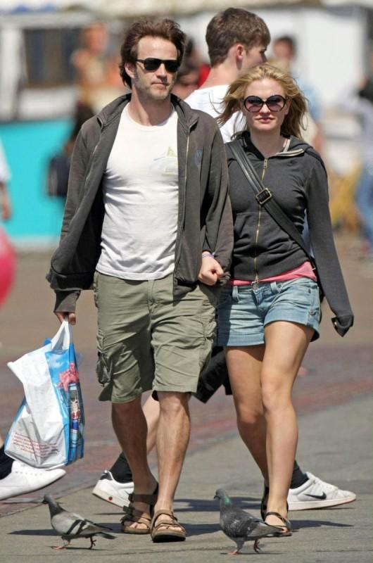 Anna Paquin e il fidanzato Stephen Moyer, co-protagonista della serie True Blood