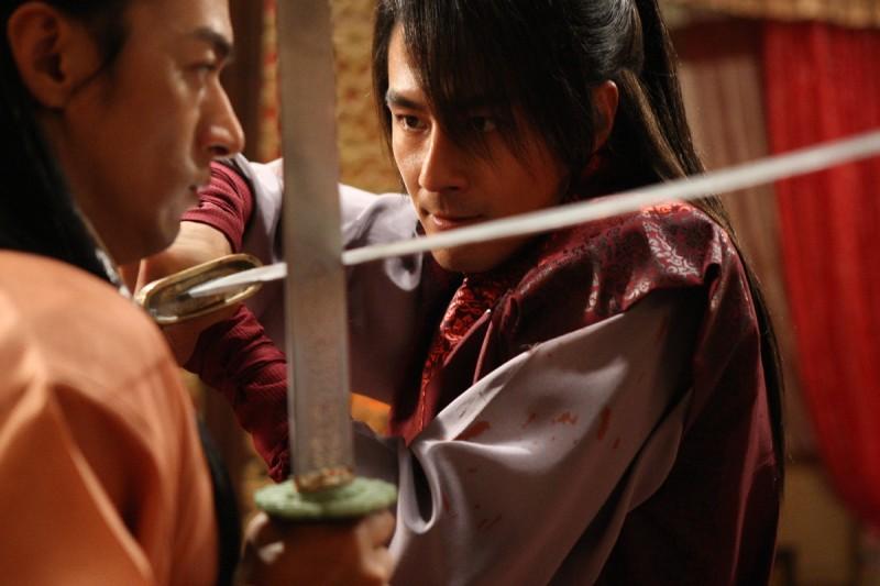 I protagonisti del film sudcoreano A Frozen Flower presentato al Far East Film Festival 2009