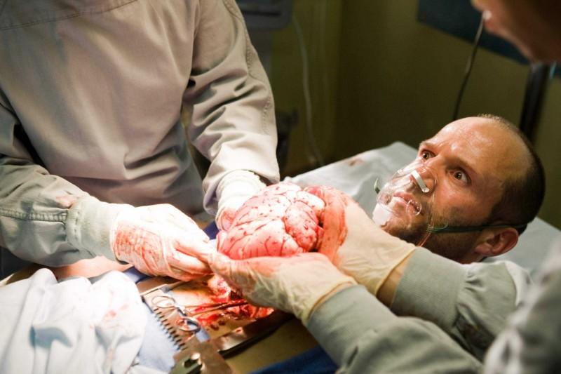 Jason Statham in un'immagine del film Crank 2: High Voltage