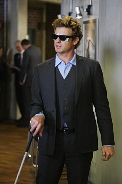 Simon Baker è Patrick Jane nell'episodio Bloodshot della serie The Mentalist