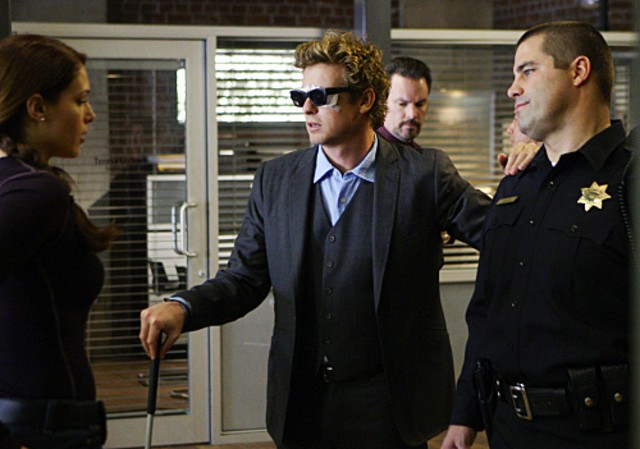 Simon Baker in un momento dell'episodio Bloodshot della serie The Mentalist