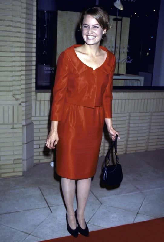 una sorridente Sherry Stringfield