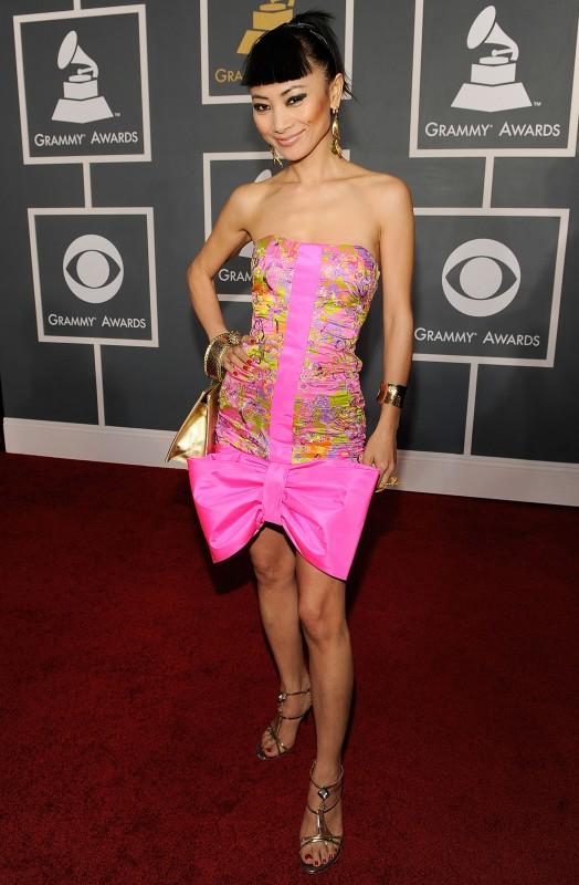Bai Ling alla 51esima edizione dei Grammy Awards
