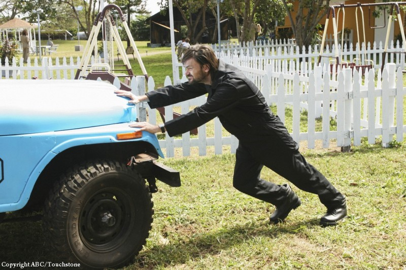 Jeremy Davies in un momento dell'episodio The Variable di Lost