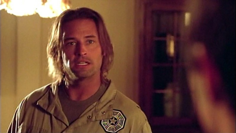Josh Holloway in una scena dell'episodio Some Like It Hoth di Lost
