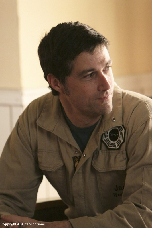 Matthew Fox in una scena dell'episodio The Variable di Lost