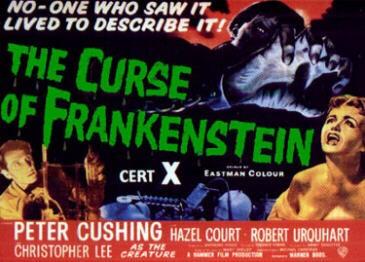Una lobbycard promozionale de La maschera di Frankenstein
