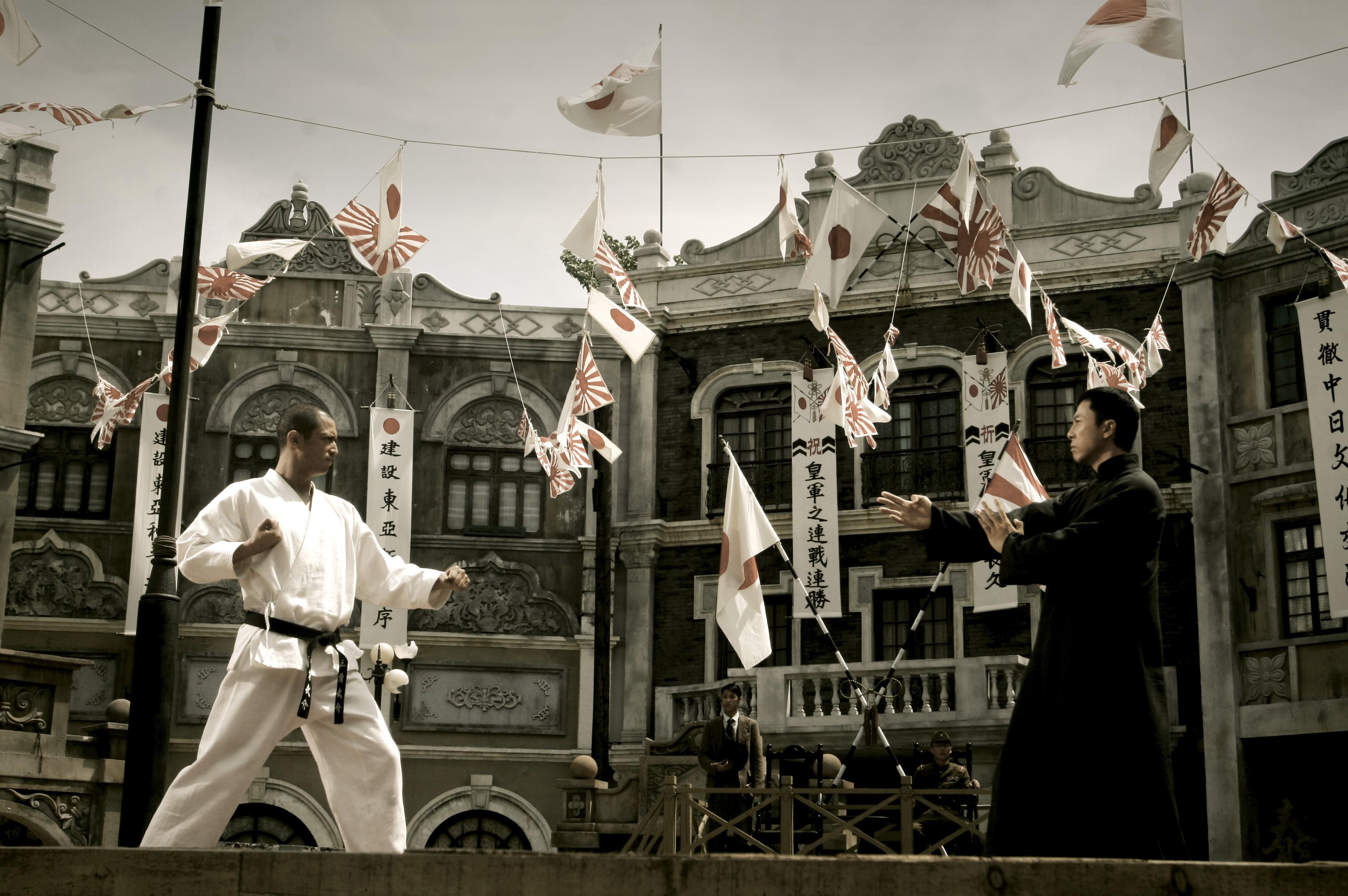 Wallpaper del film Ip Man, Presentato in concorso al Far East Film 2009 nella sezione 'Hong Kong'.