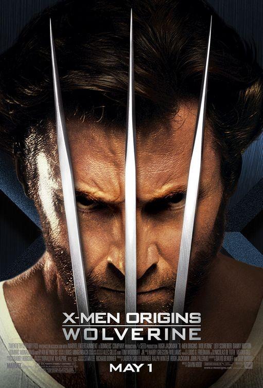 Poster USA definitivo per X-Men - Le origini: Wolverine