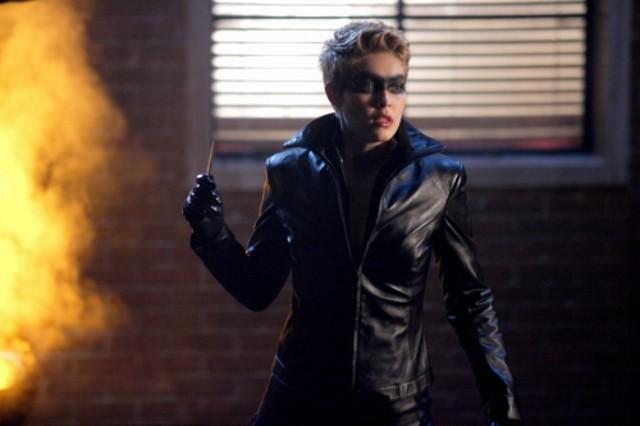 Alaina Kalanj in una scena dell'episodio ' Urlo ultrasonico ' della serie tv Smallville