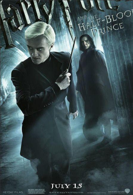Character Poster per Harry Potter e il principe mezzosangue - Draco Malfoy & Severus Snape