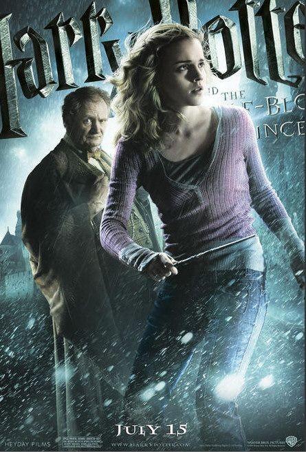 Character Poster per Harry Potter e il principe mezzosangue - Hermione Granger & Horace Slughorn