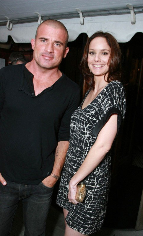 Dominic Purcell con Sarah Wayne Callies