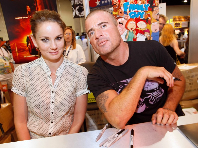 Dominic Purcell e Sarah Wayne Callies al Comic Con 2008