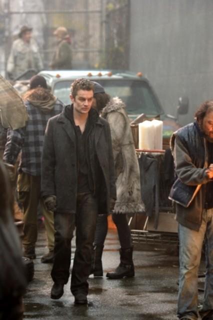 James Marsters in un momento dell'episodio ' Il sosia ' della settima stagione di Smallville