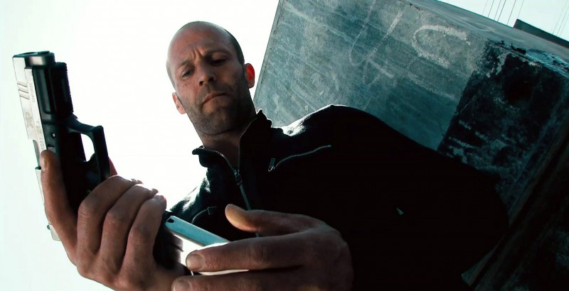 Jason Statham in una scena di Crank 2: High Voltage