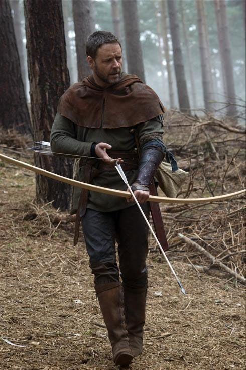 Russell Crowe nei panni di Robin Hood